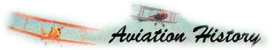 Aviation History - Home Page